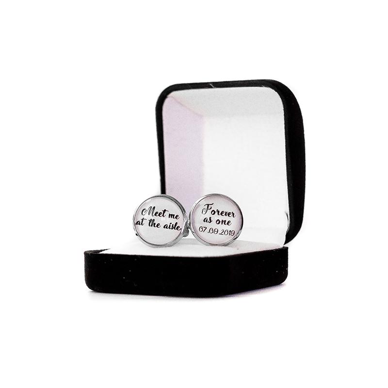 Butoni personalizati data nunta