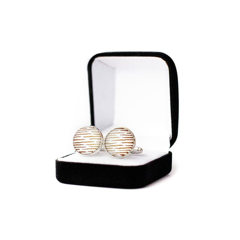 Butoni personalizati dungi gold