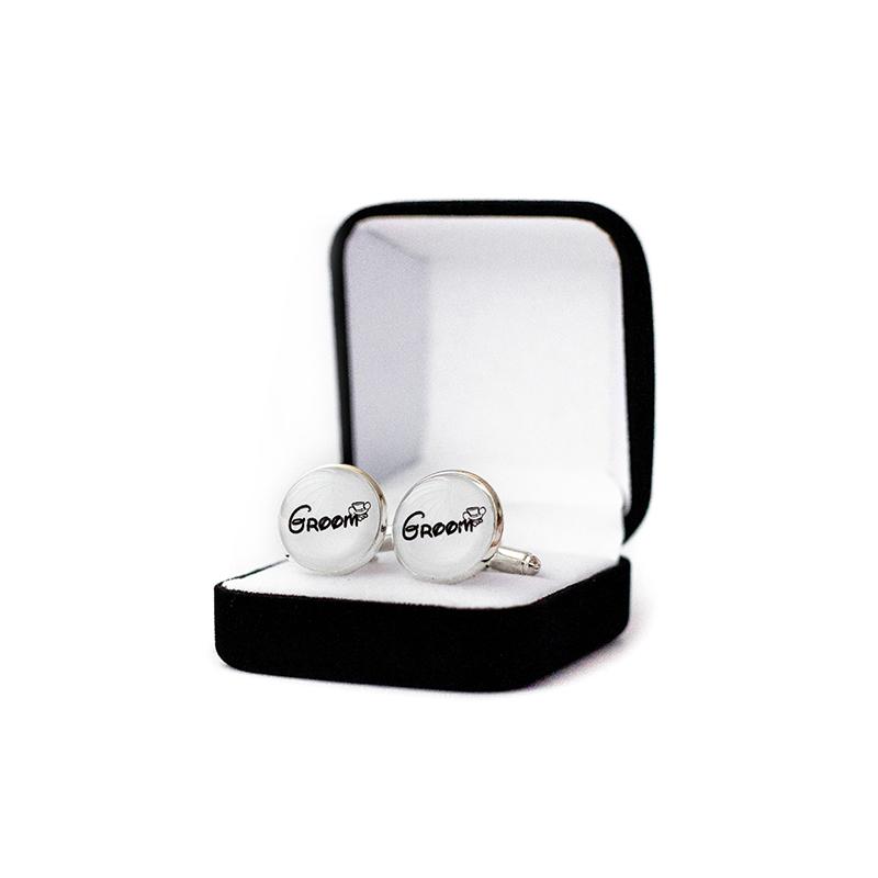 Butoni personalizati nunta mire groom