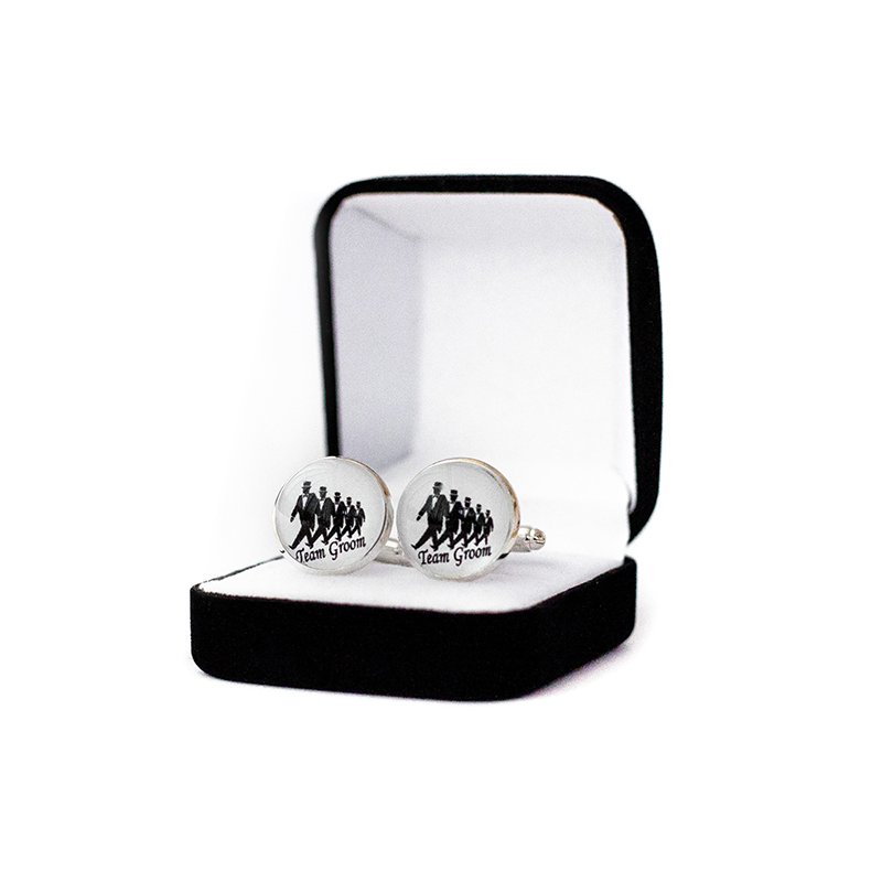 Butoni personalizati nunta team groom