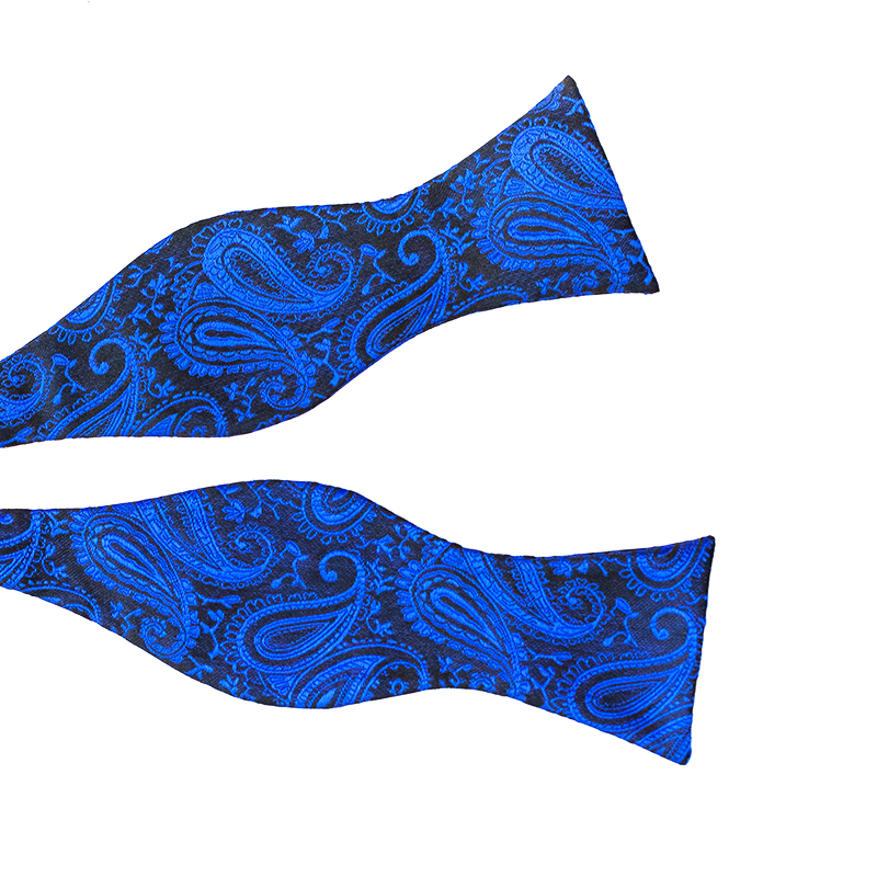 Papion Self Tie Blue