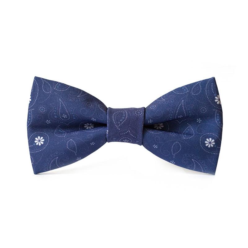 Papion personalizat cu modele albastre